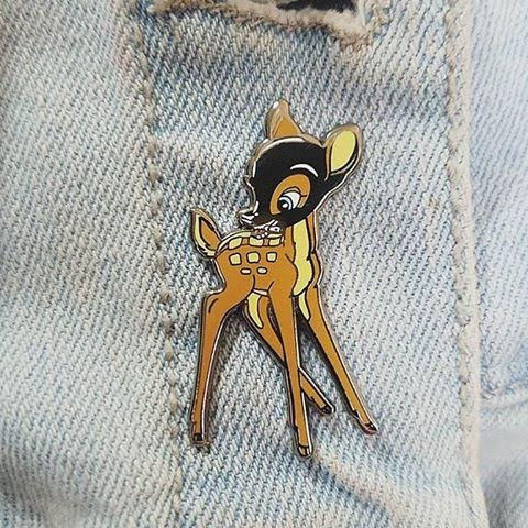 Bondage Bambi Enamel Pin from Western Evil (MP72)