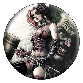 DC Comics- Harley Quinn Joker Wall pin (pinX311)