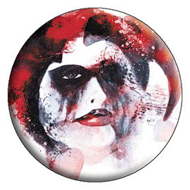 DC Comics- Harley Quinn Painted pin (pinX312)