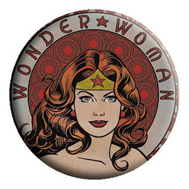 DC Comics- Wonder Woman Face pin (pinX386)