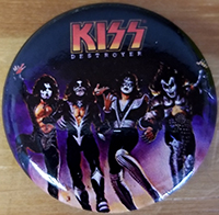 Kiss- Destroyer pin (pinx518)