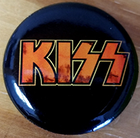 Kiss- Fire Logo pin (pinx519)