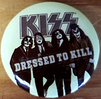 Kiss- Dressed To Kill pin (pinx523)