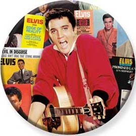 Elvis Presley- Collage Pin (pinX499)