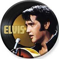 Elvis Presley- Microphone Pin (pinX505)