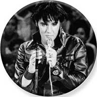Elvis Presley- Leather Pin (pinX506)