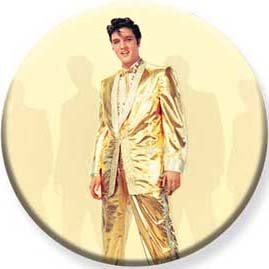 Elvis Presley- Gold Suit Pin (pinX507)