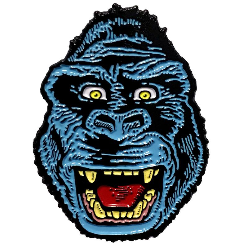 Blue Kong Enamel Pin by Scumbags & Superstars (mp247)