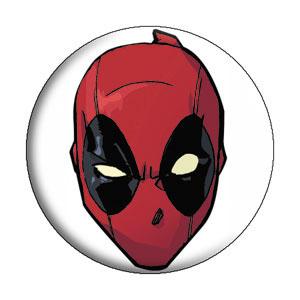 Marvel Comics- Deadpool Headshot pin (pinX380)