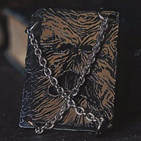 Book of the Dead Enamel Pin by Lively Ghosts (MP431)