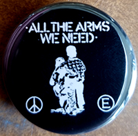 All The Arms We Need pin (pin-167)