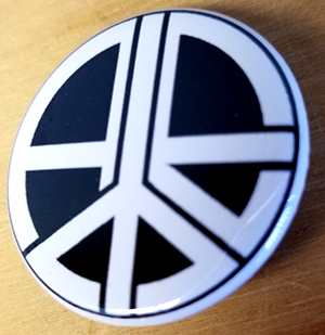 Anarchy Peace Equality pin (pin-C2)