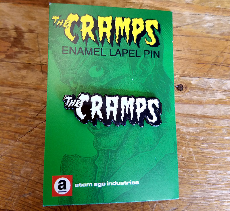 Cramps- Logo Enamel Pin (MP142)