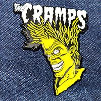 Cramps- Bad Music Enamel Pin