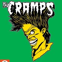 Cramps- Bad Music Enamel Pin