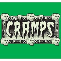 Cramps- Glow In The Dark Drug Train Logo Enamel Pin