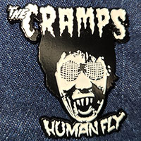 Cramps- Human Fly (White) Enamel Pin