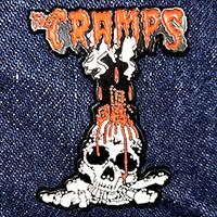Cramps- Voodoo Skull Enamel Pin