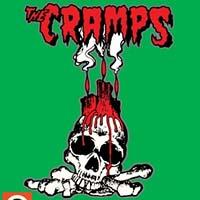 Cramps- Voodoo Skull Enamel Pin (MP401)