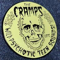 Cramps- Wild Psychotic Teen Sounds Enamel Pin (Glows In The Dark!)