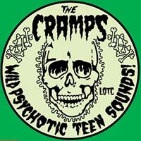 Cramps- Glow In The Dark Wild Psychotic Teen Sounds Enamel Pin