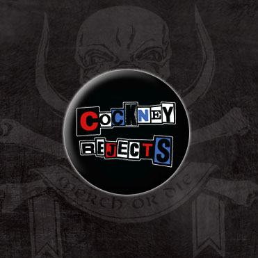 Cockney Rejects- Logo pin (pinX114) (Sale price!)