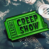 Creepshow Ripped Ticket Enamel Pin by Mood Poison (MP149)