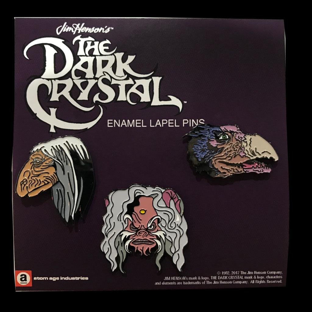 Dark Crystal- 3 Enamel Pin Set