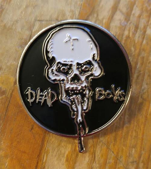 Dead Boys Enamel Pin from Western Evil (MP8)