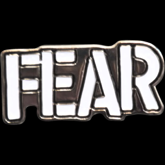Fear Enamel Pin from Western Evil (MP32)