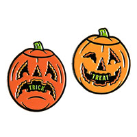 Dumb Junk Trck & Treat Pumpkins Enamel Pin Set by Sourpuss (MP276)