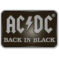 AC/DC- Back In Black Enamel Pin (mp304)