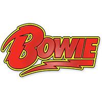 David Bowie- Logo enamel pin (MP41)