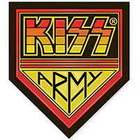 Kiss- Army Enamel Pin (mp352)