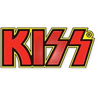 Kiss- Logo Enamel Pin (mp351)