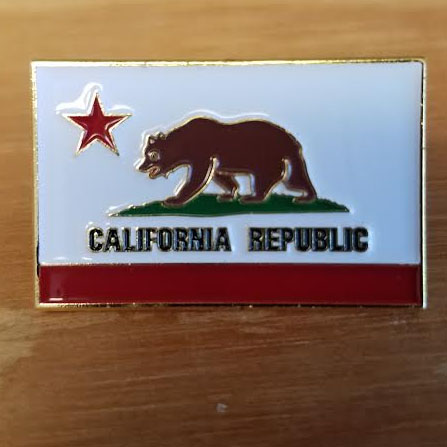 California Republic Enamel Pin (MP93)