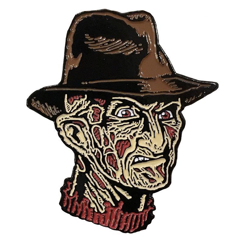 Freddy Krueger Enamel Pin by Scumbags & Superstars (mp246)