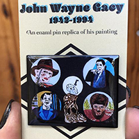 Famous Monsters by John Wayne Gacy Enamel Pin by Graveface (MP437)