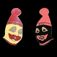 Art Of John Wayne Gacy - Pogo Enamel Pin Set from Western Evil (MP362)