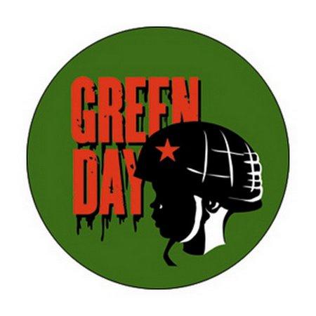 Green Day- Helmet pin (pinX101)