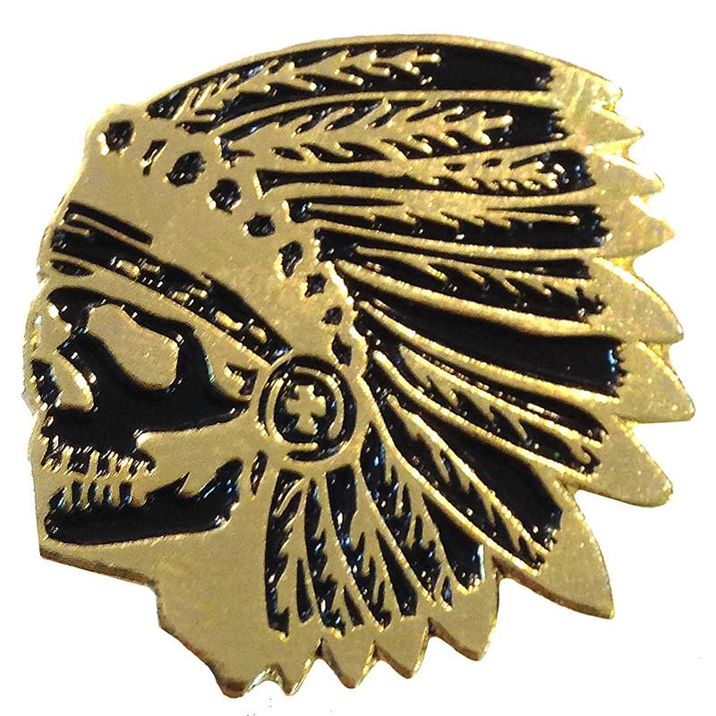 Gold Chief Enamel Pin by Scumbags & Superstars (mp242)