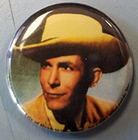 Hank Williams- Picture pin (pinX141)