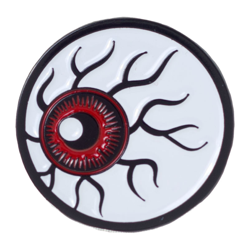 Eyeball Enamel Pin by Sourpuss/Kustom Kreeps (MP60)