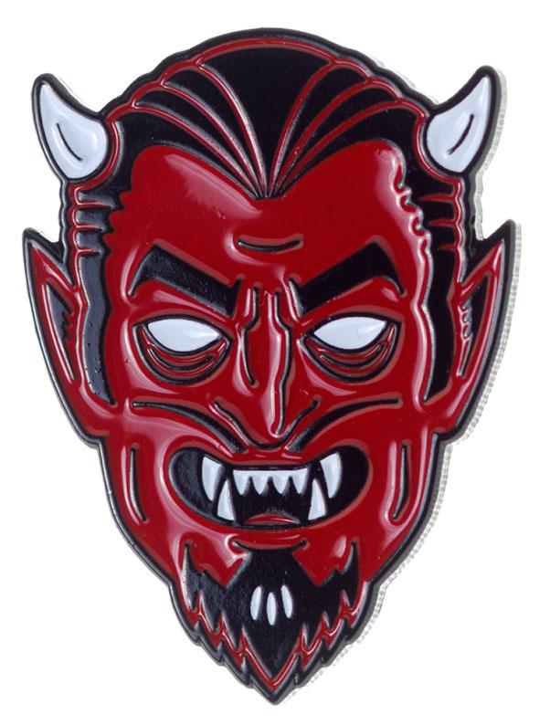 Creepy Devil Enamel Pin by Sourpuss/Kustom Kreeps (MP66)