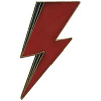 David Bowie- Bolt Enamel Pin (mp353)