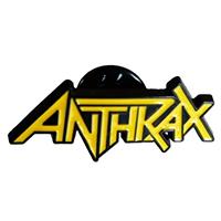 Anthrax- Logo Enamel Pin (mp391)