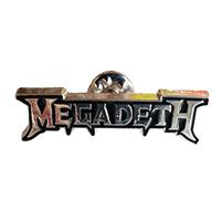 Megadeth- Logo Enamel Pin (mp392)