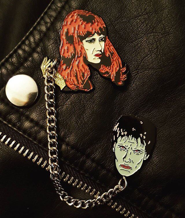 Lux & Ivy I'm Cramped Deluxe Enamel Pin Set by Mood Poison (mp134)