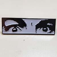 Manson Eyes Enamel Pin