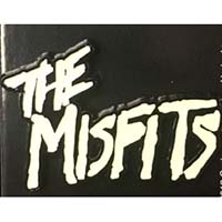 Misfits- Glow In The Dark 1977 Logo Enamel Pin (MP390)